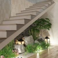 Jardim interior | Interior garden